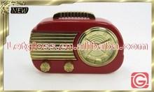 OEM zinc alloy Retro Radio alarm unique clock