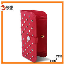 2015 Hot newly arrived top genuine Ostrich fashion & sexy crocodile pattern phone leather case for iphone 6