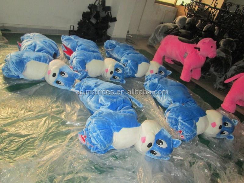 MZ5936 китае производство в 2016 электрический плюшевые едет парк развлечений мягкую игрушку автомобиля zippy животных, горячие продажи