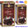 Frozen chocolate lave cake packaging boxes