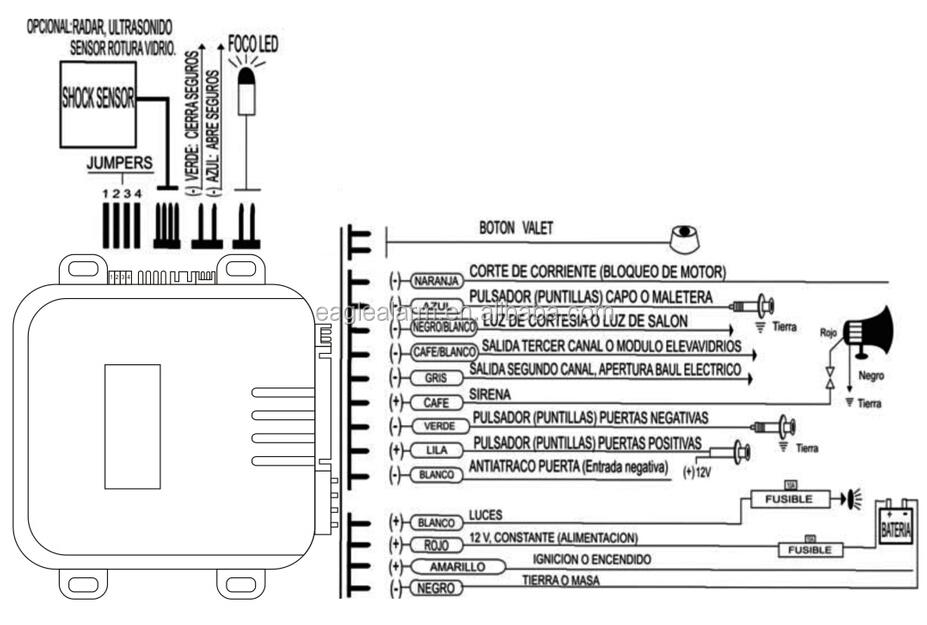 car alarm installation wiring diagram - roslonek,