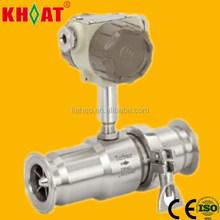 KHLWGY Sanitary Milk Food Turbine Flow Meter