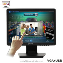 2015 new product and best quality of LCD/LED touch monitor used 5 wire touch screen