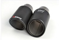 classical 114diagonal inlet51mm-outlet114mm for ak AKRAPOVIC carbon fiber exhaust tip exhaust pipe muffler