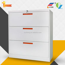 Best selling high end Knock down steel File cabinet with three drawers for Legal size files