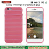 New products innovative product tpu Stripe Back Cover soft case tpu phone case tpu case for iphone 6 6s 6 plus