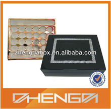 High Quality Customized Made-in-China luxury Chocolate Box/ Chocolate gift Box Wooden Chocolate Box