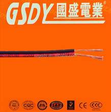 China Manufacture OEM Brand Power core cable 300V PVC insulated flat copper core cable