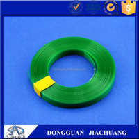 High tension green pet strap polyester packing strap pet strap making machine for metal,cottons,glass bottles,raw paper,woods, p