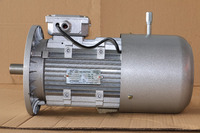 High power single phase capacitor started electric motor