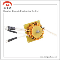small vertical small vertical ferrite shield inductor
