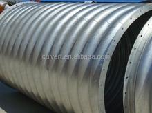 Galvanized Corrugated Steel Pipe culvert in China