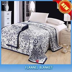 2015 new design high quality animal print flannel blanket polyester children