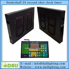 led portable digital basketball shot clock for basketball standard match