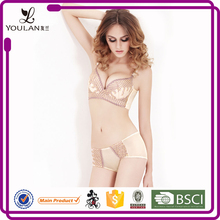 sexi graceful new style attractive full cup women bra set transparent inner wear