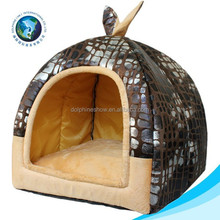 High quality cat dog house plush cat dog kennel soft bed for cat