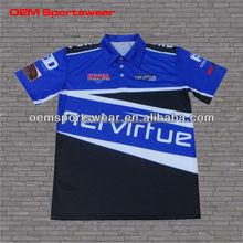 Breathable mesh jerseys custom racing team sports wear
