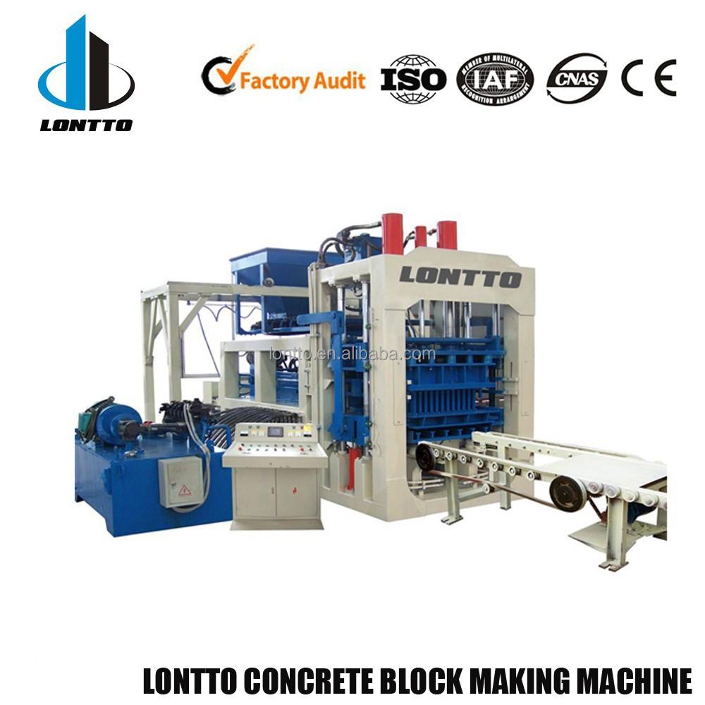 interlock brick machine