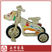 Chinese Zodiac rabbit bamboo children tricycle,kids tricycle,baby tricycle,pedal car