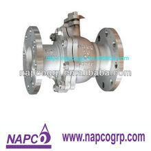 C4 ball valve for nitric acid