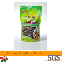 Taiwan Names of Sweet Brown Sugar Added Sour Dried Plum Candy