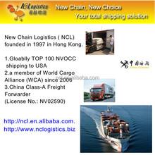 Alibaba cargo shipping from China to Edmonton