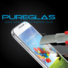 High quality no bubble super guard anti-shock 9h milo 2.5D cell phone tempered glass screen protector for Samsung galaxy s4 mini