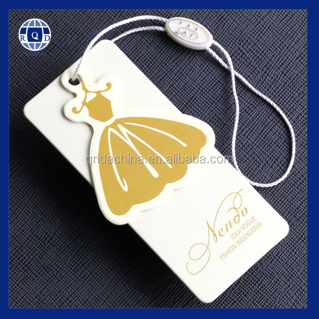 wholesale custom paper clothing hang tag printing with With clothing hang tags wholesale