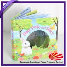 Customized design children english 3d picture book