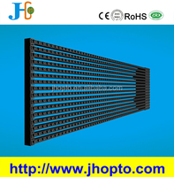 energy saving led stage display 25kg weight RGB p15.625 led RGB media mesh