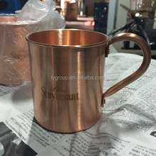 500ml pure copper mug,russian standard pure copper drinking mug,Pass the test moscow mule pure copper mug