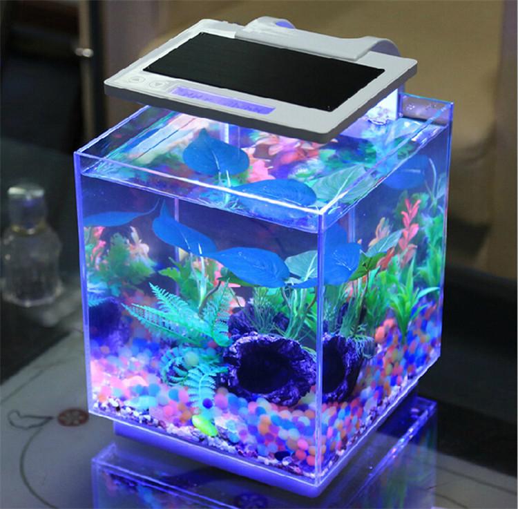Sunsun smart dimmable aquarium bar tables small marine - Fabriquer aquarium table basse ...