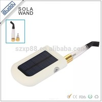 New invented technology solar charging E cigarette original SOLA WAND smoker friendly electronic cigarette