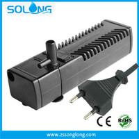 200 L/H Electric Aquarium Water Filter Pump / Small Fish Tank Filter EU Plug