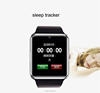 New product QWD GT08 smart watch phone For Android/IOS touch screen sim card with camera