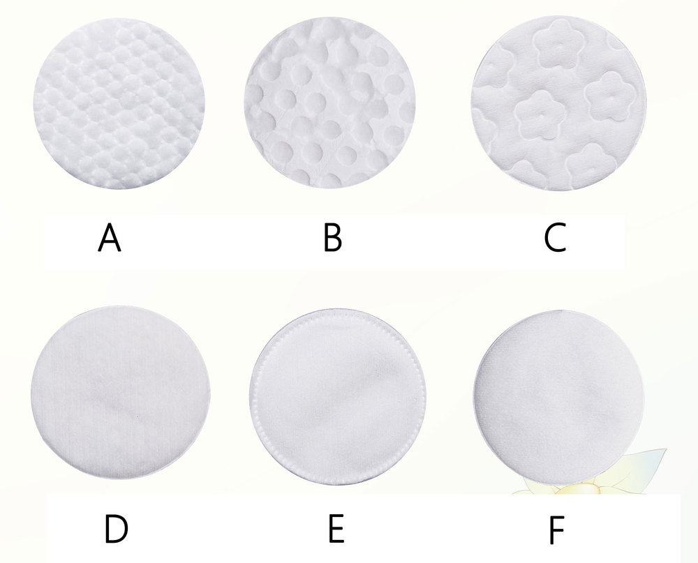 80 Count Round Cotton Pads