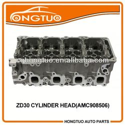 Aluminum Diesel Engine Parts for Opel Signum ZD30 Motor Cylinder Head 3.0 DTI DOHC 16V 2000-,11309DC00B