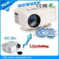 Bolsillo LED proyector video Proyector Bajo precio Ascendido mini video Proyectores