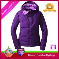 Manufacturer warm eco-friendly sandex yellow female jacket for hoody jacket