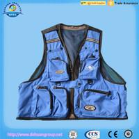 Fishing vest for fishing