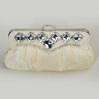 Womens Lady Sequin Evening Bag Handbag Shoulder Chain Clutch Bag