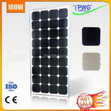 Good Mono Solar Panel Module 100w Sunpower Solar Power Set HOT SALE