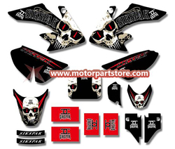 3M GRAPHICS STICKERS for HONDA CRF50 CRF50F 2004-2012 TSX-DGS007