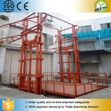 2015 Wholesale High quality wall mounted cargo lift table