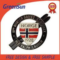 Popular factory price professional metal auto badge