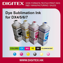 Print on Dye Sublimation Transfer Paper dye sublimation ink for Mimaki textile printers