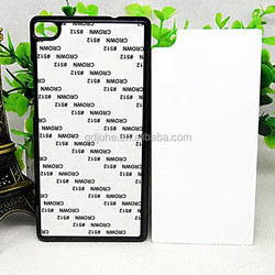 High quality 2D blank sublimation cell phone cover for Huawei P8