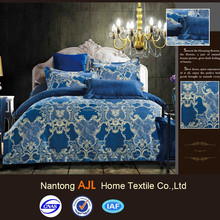 100% polyester single bed sheet for home decoration
