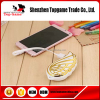 Angel wings shape mobile power bank for Samsung Galax S6