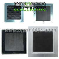300x600mm, steel EMI Honeycomb filter for shielding room with RF box shielded honeycomb vent